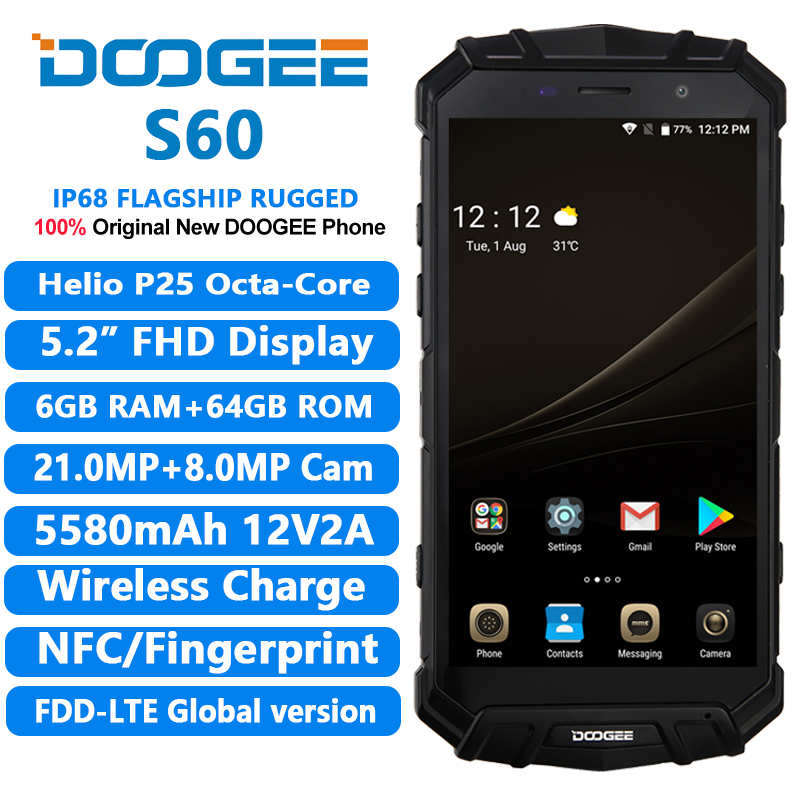 Doogee S60 Smartphone Is A Super Rugged Phone For Those Who Likes