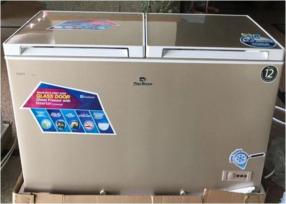 Dawlance Launches New Glass Door Chest Freezer